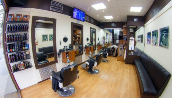 panoramic view of the salon